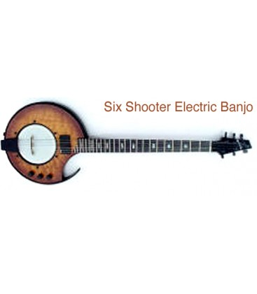 Nechville - Six Shooter Electric Banjo