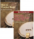 Online DVDs - Two - How to Practice Banjo and Rock Solid Banjo Timing and Backup