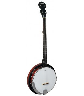 Morgan Monroe Rocky Top RT-24 - Beginner Bluegrass Banjo with Resonator - RT-B24