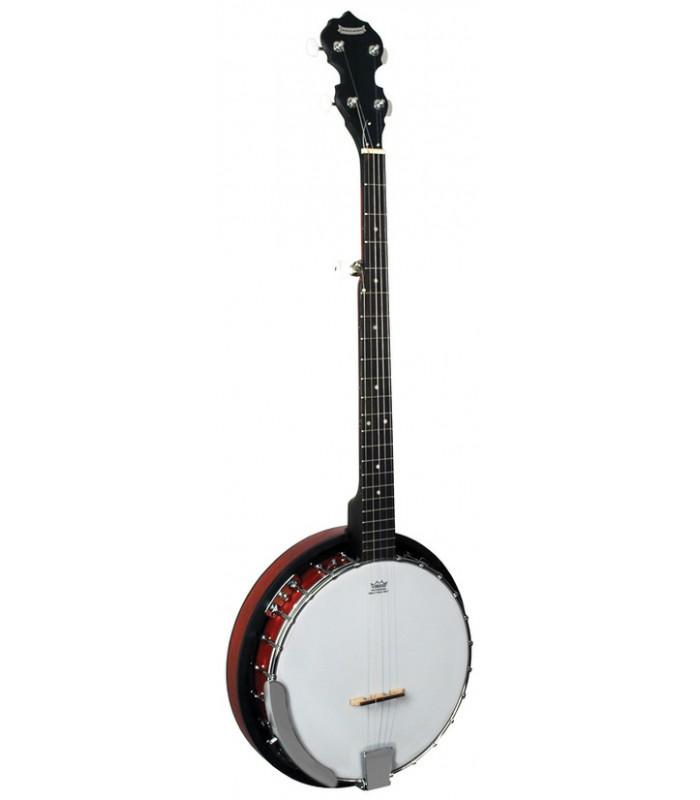 Morgan Monroe Rocky Top RT-24 - Beginner Bluegrass Banjo with Resonator -  RT-B24