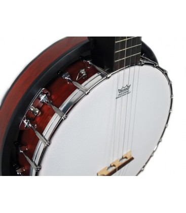 Morgan Monroe Rocky Top - Low Cost Beginner Bluegrass Banjo with Resonator - RT-B24