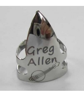 Greg Allen Signature Model Stainless Steel Banjo Picks
