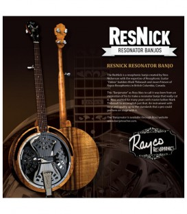 ResNick Resonator Banjo - Deposit to start constuction