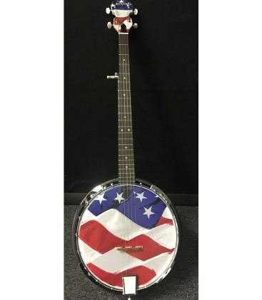 Morgan Monroe - Old Glory - USA Series Banjo