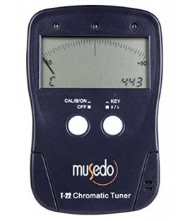 Tuner - Clips to Banjo Bridge - Accurate Tuning - MUS T-22