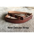 All Leather Banjo Strap - Resonator or Open Back