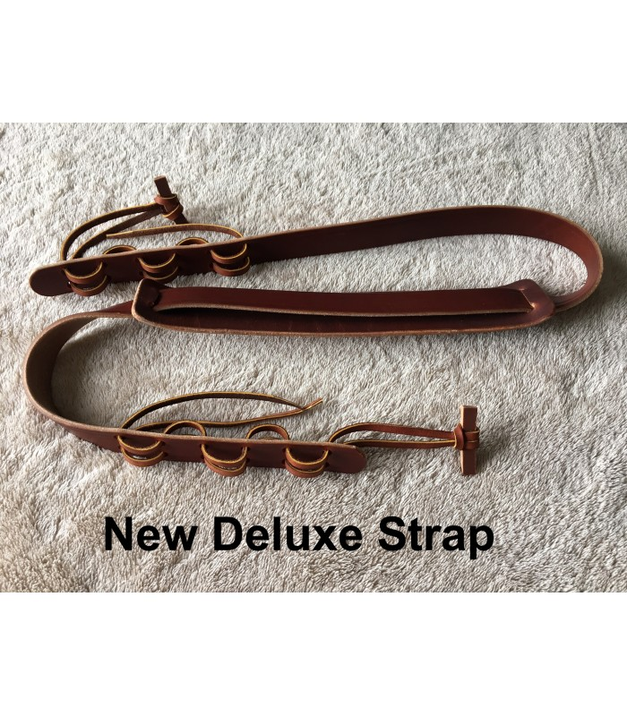all leather banjo strap resonator or open back fits all banjos. Black Bedroom Furniture Sets. Home Design Ideas