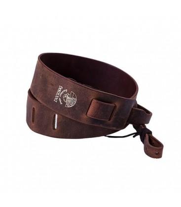 deering leather banjo strap adjustable supports heavier banjos. Black Bedroom Furniture Sets. Home Design Ideas