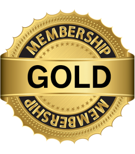 Complete Online Course LIFETIME Upgrade to Gold Membership Access