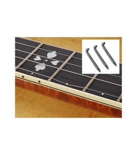 Install 5th String Capo Spikes on 7th Fret Only
