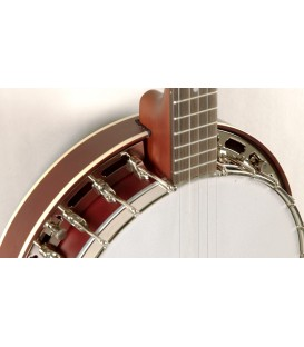 Recording King Beginner Banjo with Resonator - RKH-05
