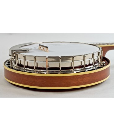 Recording King Banjo - USA Series M7 - Mahogany