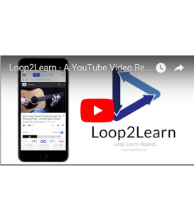 Loop2Learn - Amazing App that Slows Down YouTube Video