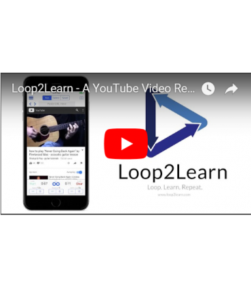 loop on youtube app
