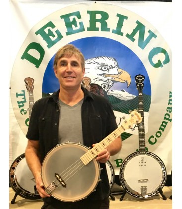 Deering - Goodtime Banjo Ukulele with Official Deering Gig Bag Free