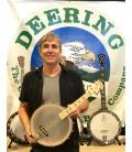 Deering Tenor Banjo Uke - 17 Fret Tenor Ukelele Banjo - G C E A