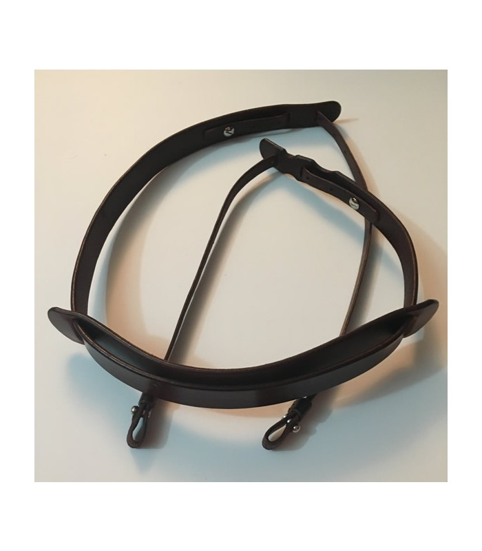 leather banjo strap fits banjos with smaller space to attach strap. Black Bedroom Furniture Sets. Home Design Ideas