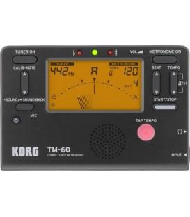 Korg TM60 Tuner-Metronome Combo