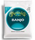 Medium Gauge Banjo Strings - 5-string - Martin Vega- V730