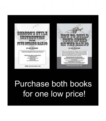 How to Build Speed Your Speed on the Banjo AND Scruggs Style Instruction for 5-String Banjo - By Ross Nickerson