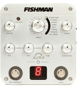 Fishman Preamp Aura Spectrum DI Preamp Box- for Banjo