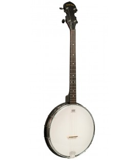 Gold Tone AC-4 - Lightweight Affordable 4-String Openback Tenor Banjo and Gold Tone Gig Bag