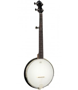 Goldtone AC-Traveler: Travel-Scale Composite 5-String Banjo with Gig Bag