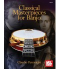 Classical Masterpieces for Banjo Book - by Claudio Parravicini