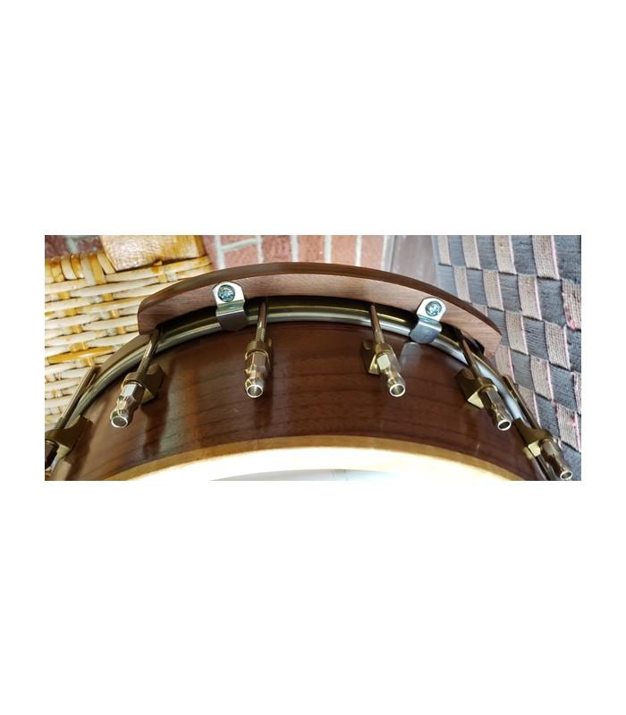 Banjo armrest Super comfortable wooden Sapele armrest.
