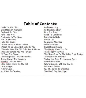 J.D. Crowe Live Show Solos Volume 2