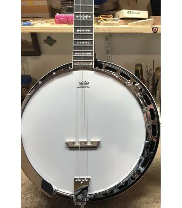Morgan Monroe MB-9 Duelington Deluxe and Hard Shell Case - FREE Beginner Banjo Kit