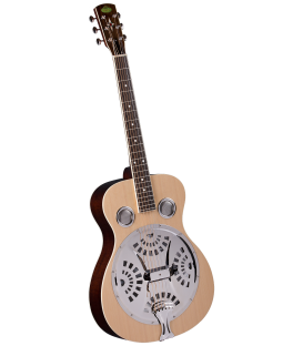 Resophonic Guitar - Regal - Round Neck Natural