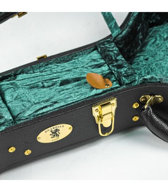 Banjo Black Guardian Cases CG-022-J Deluxe Archtop Hardshell Case