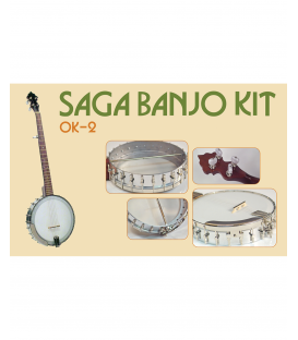 Saga OK-2 5-String Openback Banjo Kit