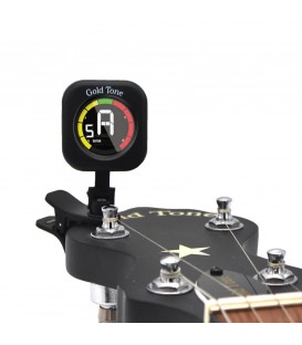 Gold Tone SCT Swift Clip-on Banjo Tuner with 360 Degree Display