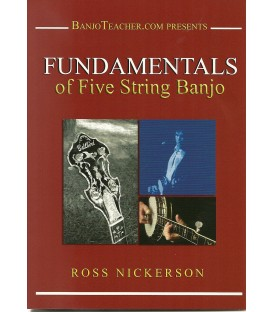 Fundamentals of 5-String Banjo - Immediate Access Download - Book, Video and Audio Tracks