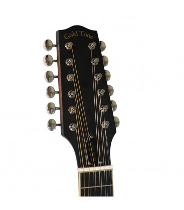 Gold Tone F-12 - 12-string F-style Mando-Guitar with Pickup and Case
