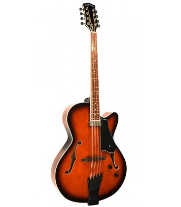 Gold Tone Mandocello with Pickup and Hard Case