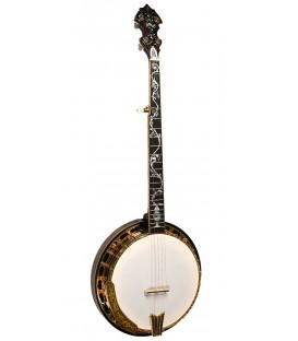 Gold Tone OB-300 - Gold Plated - Tree of Life Inlay