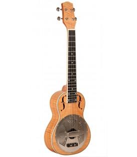 Gold Tone - ResoMaple: Tenor-Scale Curly Maple Resonator Ukulele