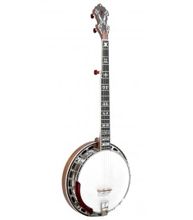 "Gold Tone Mastertone™ ""Bluegrass Heart"" Béla Fleck Signature Banjo with Fiberglass Flight Case"