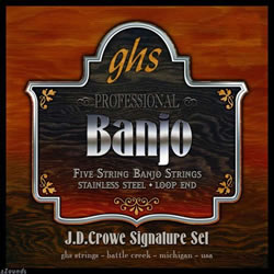 ghs banjo strings