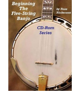 Banjo Lessons Online Hard Copy Discs