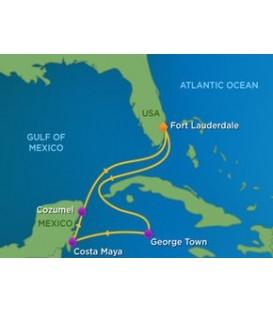 Banjo Cruise Itinerary