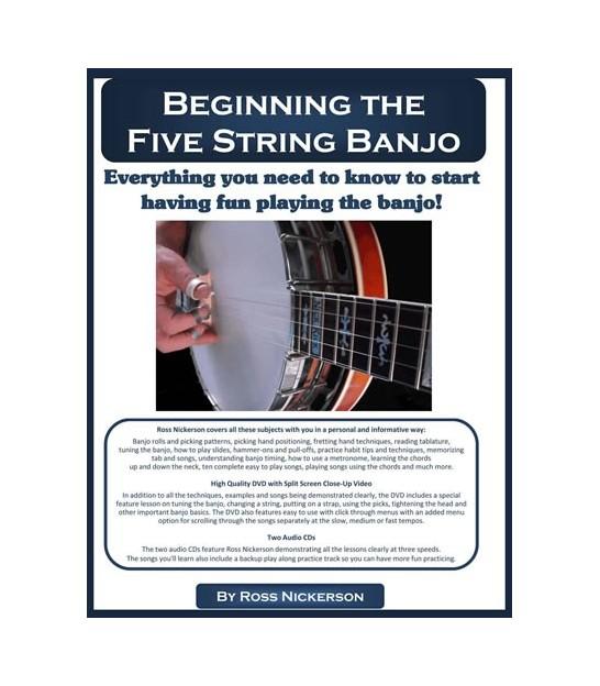 Banjo Books | Banjo DVDs | Beginner Banjo Tabs | Banjo Chords Chart