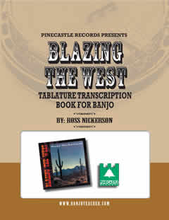 blazing west tablature book