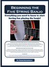 Beginning Banjo Book Picture
