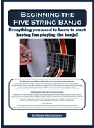 Beginning the Five String Banjo Book with DVD and Two CDs