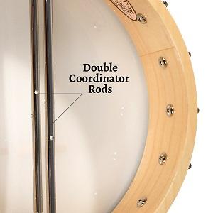 Gold Tone CC-100 dual coordinator rods