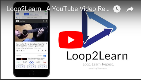 Watch Loop to Learn on You Tube
